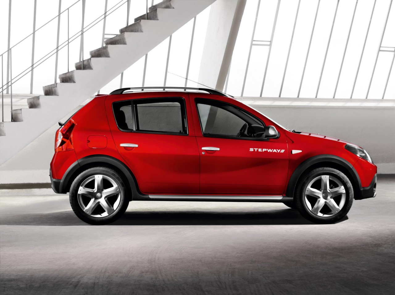 fotos del dacia sandero stepway. Black Bedroom Furniture Sets. Home Design Ideas