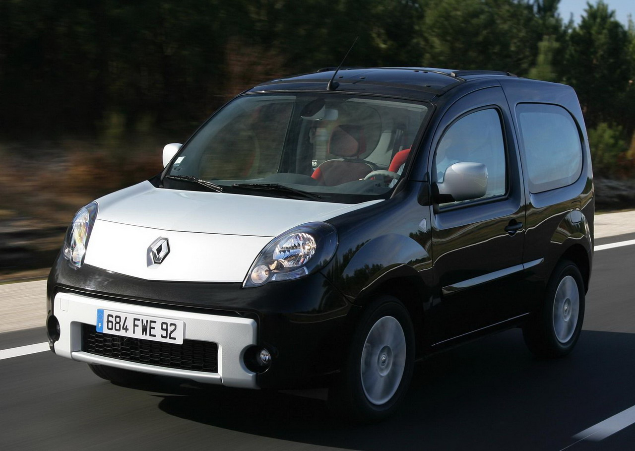 fotos del renault kangoo be bop. Black Bedroom Furniture Sets. Home Design Ideas
