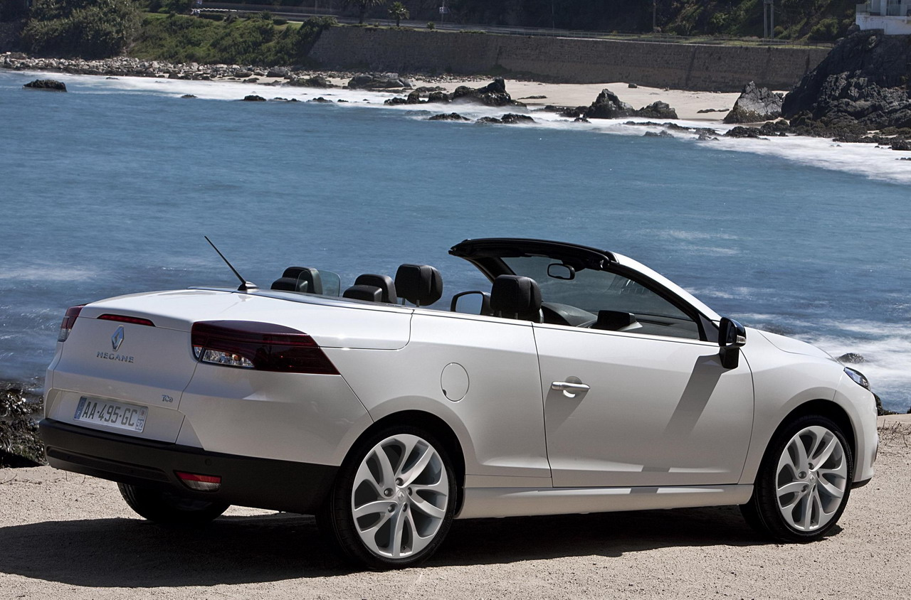 fotos del renault megane coup cabrio. Black Bedroom Furniture Sets. Home Design Ideas