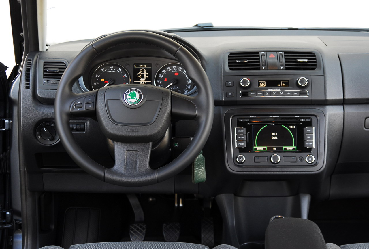 fotos del skoda fabia 1 2 tsi 105 cv sport. Black Bedroom Furniture Sets. Home Design Ideas